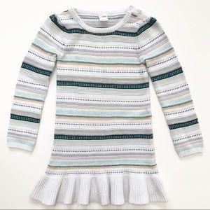 Gymboree Ribbed Sweater Tunic Dress Size 7
